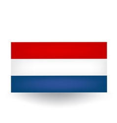 Dutch flag vector