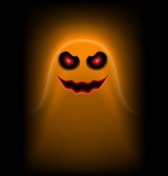 Ghost orange vector