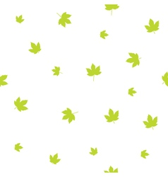 Leafs - seamless pattern vector image
