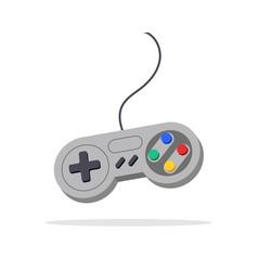 Video game joystick design toy device keypad vector