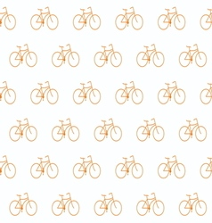 bike simple patern2 vector image