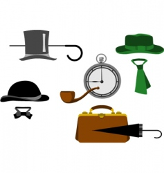 old style clothing vector image vector image