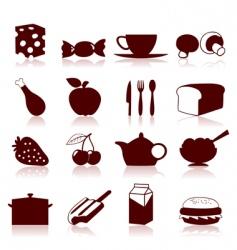 food icon4 vector image