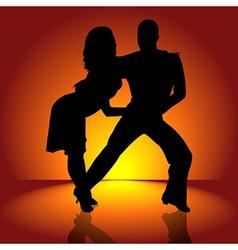 Hot Latino Dance vector image vector image