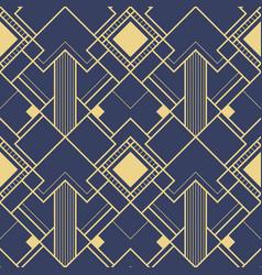 Abstract modern art deco geometric pattern vector