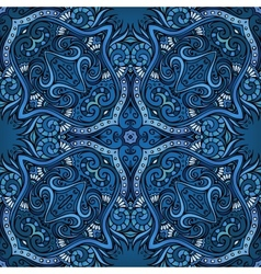 Abstract ornamental ethnic background vector image