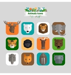 Animals Avatars vector
