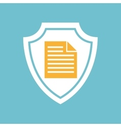 Document file icon vector