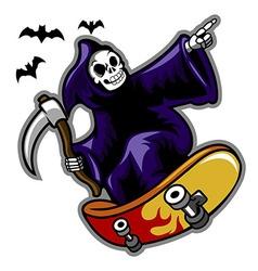 Grim Skater vector