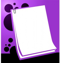papers vector image