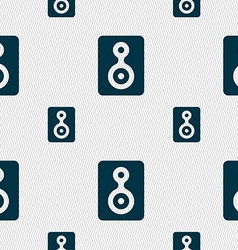 Video Tape icon sign Seamless pattern with vector image