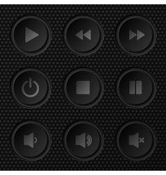 Navigation Button Set vector image