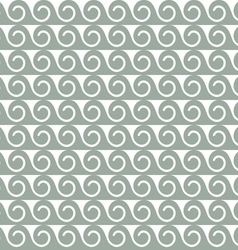 Abstract seamless pattern with stylized waves vector image