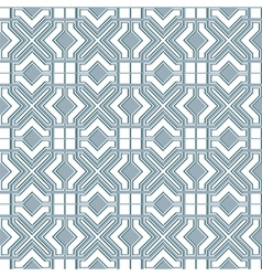 Seamless geometric background in islamic style vector image vector image