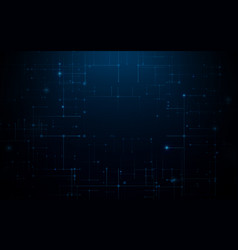 Abstract circuit board technology background vector