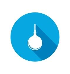 Clyster tool icon Enema symbol vector image