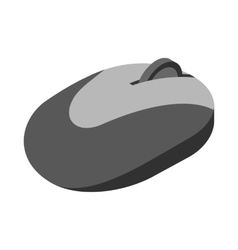 Computer mouse icon cartoon style vector