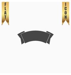 Label flat icon vector