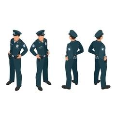 Policeman in uniform Policeman icon Policeman vector