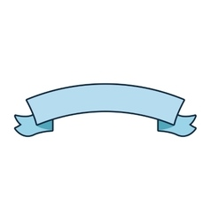 ribbon banner icon vector image