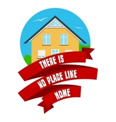 Real Estate Emblem vector image vector image