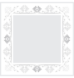 vintage frames version grayscale vector image