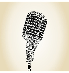 Microphone6 vector image vector image