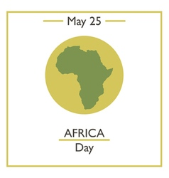 Africa Day vector