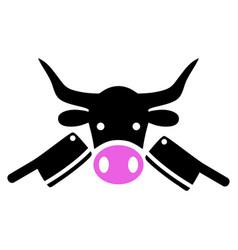 butchery icon vector image