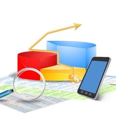 Documentation stock vector image