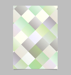 geometrical abstract modern colorful square flyer vector image