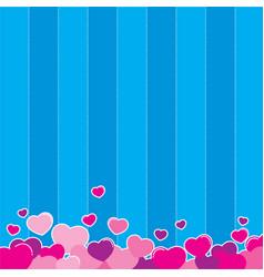 love background design vector image