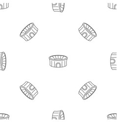 sport arena pattern seamless vector image