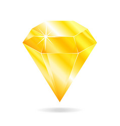 topaz gemstone vector image