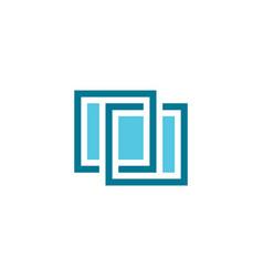 window logo symbol sign element vector image