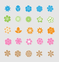 Cute floral vector image