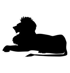 lion symbol of power vector image