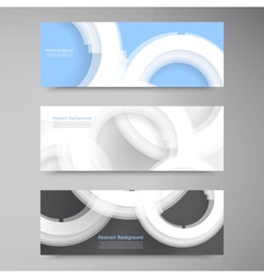 abstract gem and blue ice set vector image