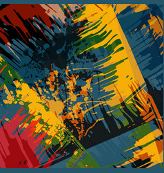 Abstract color pattern in graffiti style quality vector