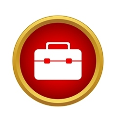 Brief case Icon simple style vector image
