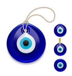 Evil eye protection signs symbol protection vector