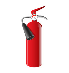 Fire extinguisher - realistic isolated vector