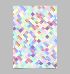 gradient trendy modern geometrical square vector image