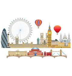 London skyline 2 vector