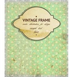Retro Vintage Frame vector
