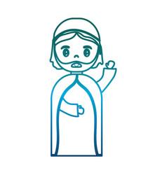 saint joseph icon vector image