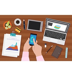 Work activity vector image