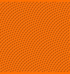 Basketball seamless texture with bumps vector
