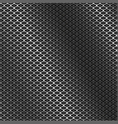 Metal perforated 3d texture vector