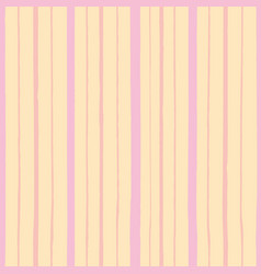 Pink pattern with stripe vector